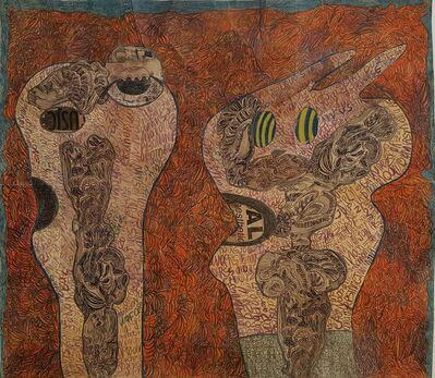 Geneviève Seillé, 'Tattoed heads #885', 2001