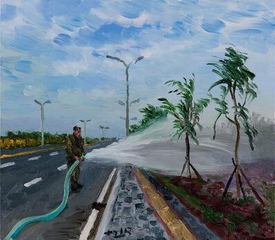 Liu Xiaodong, 'Spray', 2015