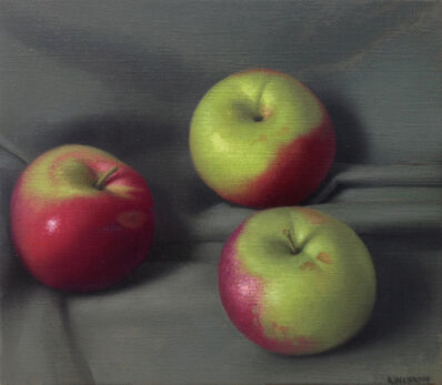 Amy Weiskopf, 'Red and Green Apples', 2014