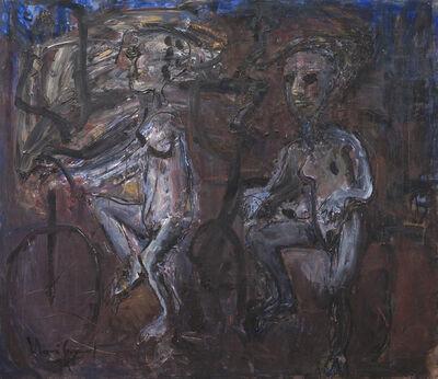Iberê Camargo, 'Série Ciclistas', 1989