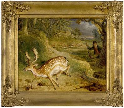James Ward, 'Study for 'The Deer Stealer'', 1823