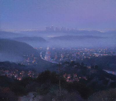 Ann Lofquist, 'South from Glendale (Night Fog)', 2017