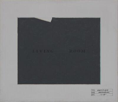 Shusaku Arakawa, 'UNTITLED ', 1968