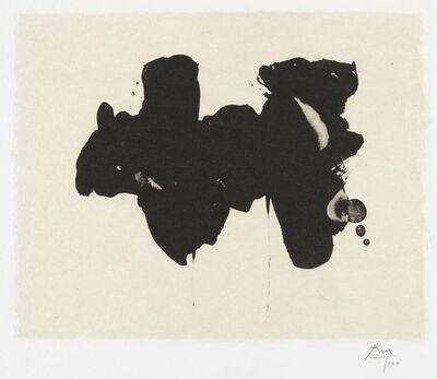 Robert Motherwell, 'Alberti Elegy ', 1982