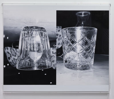 James White, 'Double Glass', 2018
