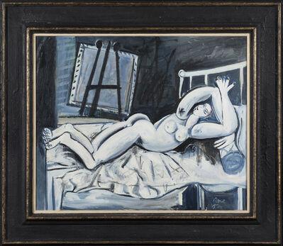 Louis Cane, 'Nu allongé dans un intérieur', 1987