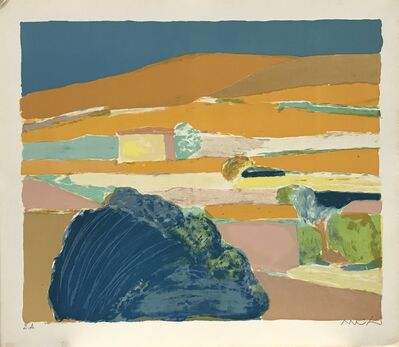 Roger Muhl, 'Le paysage (Alpilles)', 1977