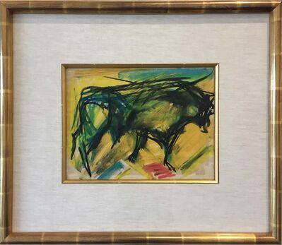 Elaine de Kooning, 'Untitled Standing Bull', 1958-1959