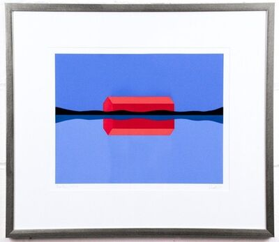 Charles Pachter, 'Red Barn Reflected', 1999