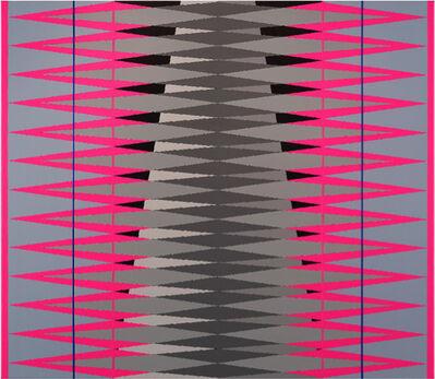 Pablo Griss, 'INTERVENTION Magenta. Grey. Blue.', 2014