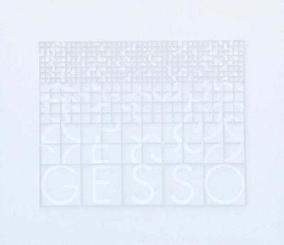 Paola Di Bello, 'Gesso (Plaster)', ca. 1980