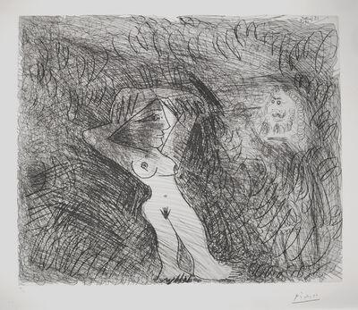 Pablo Picasso, 'Peintre Peignant sur son modèle (Painter Painting his Model)', 1968