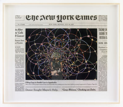 Fred Tomaselli, 'Monday, July 24, 2017', 2017