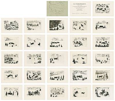 Pablo Picasso, 'La Tauromaquia o Arte de torear (José Delgado alias Pepe Illo) (Die Kunst des Stierkampfes oder Die Kunst, den Stier zu präsentieren)', 1957