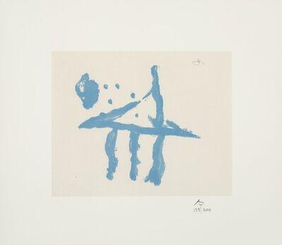 Robert Motherwell, 'Summer Trident, from Harvey Gantt Portfolio', 1970