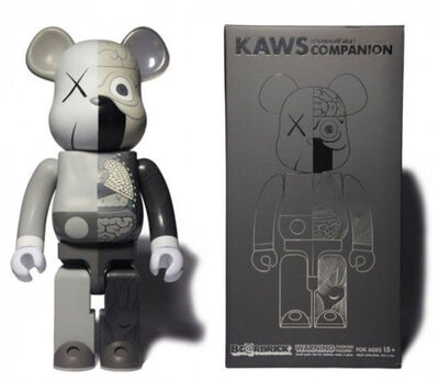 KAWS, 'Kaws 400% Bearbrick dissected Grey ed.500', 2010