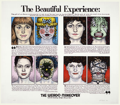 R. Crumb, 'The Weirdo Makeover', 1983