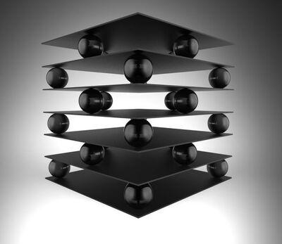 Zhang Ding, 'Black Substance-1 黑物质-1', 2014-2015