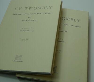 Cy Twombly, 'Catalogue Raisonne Des Oeuvres Sur Papier', 1979-1991