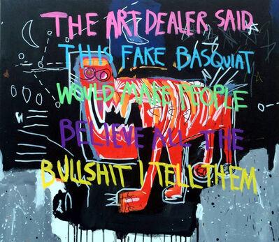 CB Hoyo, 'Bullshit Basquiat', 2018