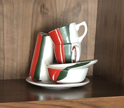 Roy Lichtenstein, 'Cup & Saucer', 1989