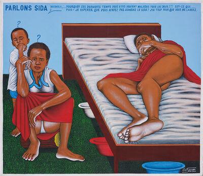 Chéri Samba, 'Parlons Sida', 2000