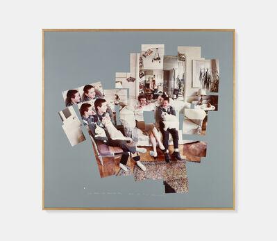 David Hockney, 'George, Blanche, Celia, Albert and Percy, London 1983', 1983