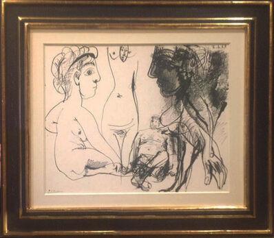 Pablo Picasso, 'Figuras', 1967