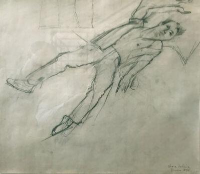 Larry Rivers, 'O'Hara Reclining', 1956