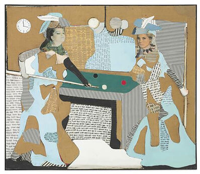 Conrad Marca-Relli, 'The Pool Game L-I-81', 1981
