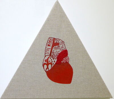 Idas Losin, 'The heart- Pacific Islands Series: Rapa Nui', 2019