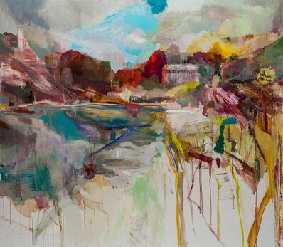 Edwige Fouvry, 'La maison près de l'arbre rouge', 2020