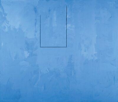 Robert Motherwell, 'Blueness of Blue', 1974