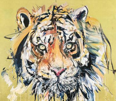 Dave White, 'Gold Leaf Tiger', 2017