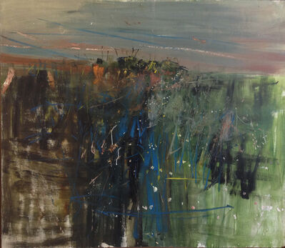Joan Eardley, 'Fields, Catterline'