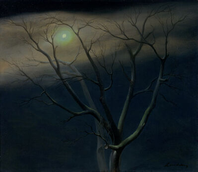 Helen Lundeberg, 'Moonlit Tree', 1949