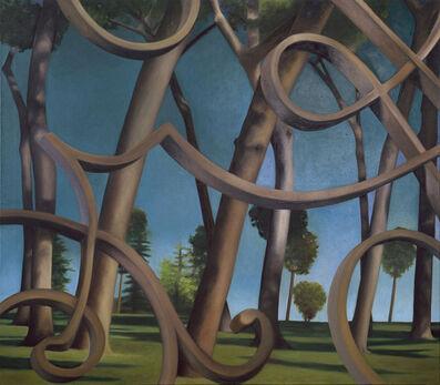 Karin Kneffel, 'Ohne Titel (Landschaft)', 1998