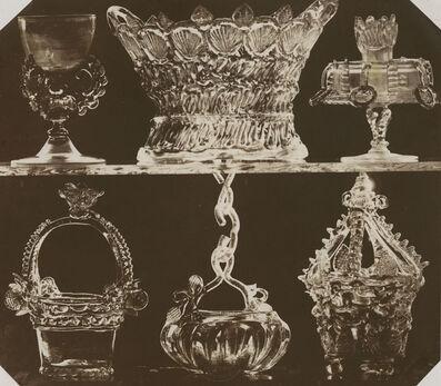 Johann Ludwig Belitski, 'Glass Baskets, etc.', 1854