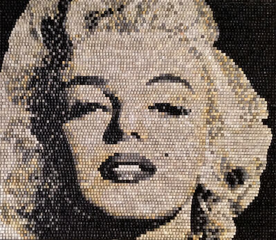 "Doug Powell, 'Marilyn Monroe (""Tantalizing Temptress -- Niagara"")', 2019"