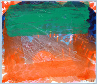 Howard Hodgkin, 'Strictly Personal', 2002