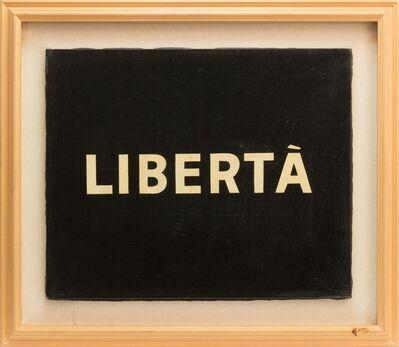 Ben Vautier, 'Libertà', 1971