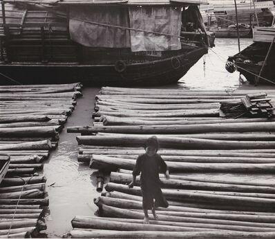Agnès Varda, 'Canton (Chine). Village flottant', 1957