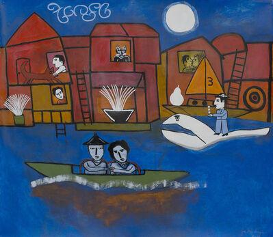 Joe Max Emminger, 'Houseboats Lake Union', 2017