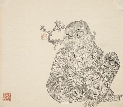 Li Jin 李津, 'Lhasa Drawing 拉萨白描', 1994