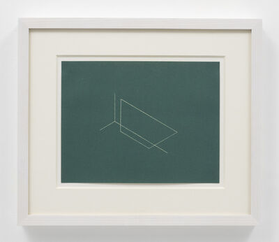 Fred Sandback, 'Untitled (from Twenty-two Constructions from 1967', 1986