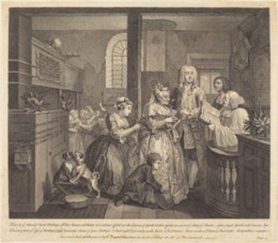 William Hogarth, 'A Rake's Progress: pl.5', 1735