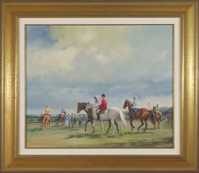 Alister Simpson, ' Cloudy Day at Royal Randwick'