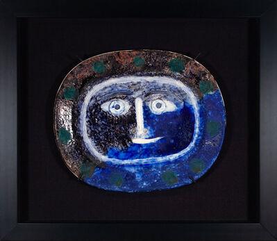 Pablo Picasso, 'Visage brun-bleu', 1947