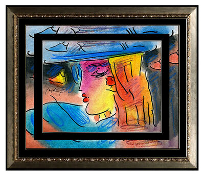 Peter Max, 'Original Blushing Beauty Profile', 1994
