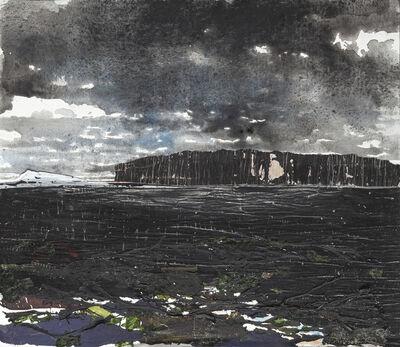 Gottfried Salzmann, 'La falaise noire', 2019